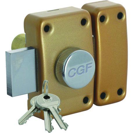 Verrou CGF à bouton